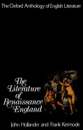 The literature of Renaissance England