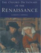 The Oxford dictionary of the Renaissance