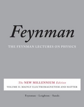 The Feynman lectures on physics. Volume II, Mainly electromagnetism and matter