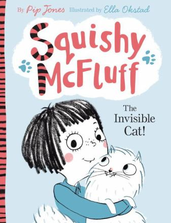 Squishy McFluff the invisible cat!