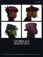 Demon days : songs from the ground-breaking album arranged for piano, voice & guitar