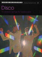 Disco : 15 classic songs for keyboard