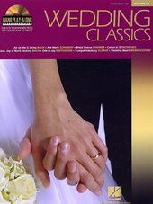 Wedding classics : play 8 of your favorite pieces with sound-alike cd tracks