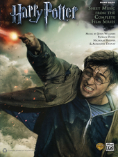 Harry Potter : sheet music from the complete film series