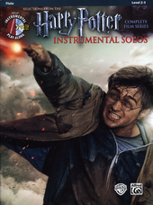 Harry Potter instrumental solos : selections from the complete film series : flute