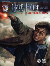 Harry Potter instrumental solos : selections from the complete film series : alto saxophone