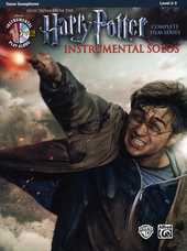 Harry Potter instrumental solos : selections from the complete film series : tenor saxophone
