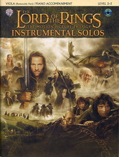 The lord of the rings : instrumental solos : the motion picture trilogy