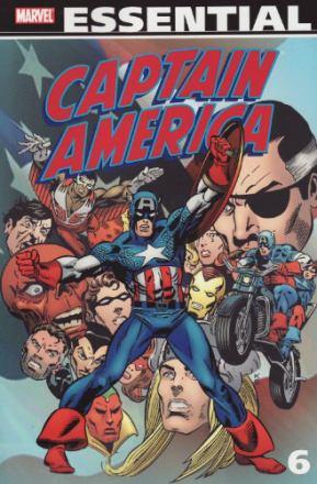 Essential Captain America. 6