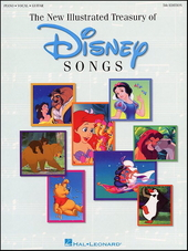 The illustrated treasury of Disney songs : piano-vocal-guitar
