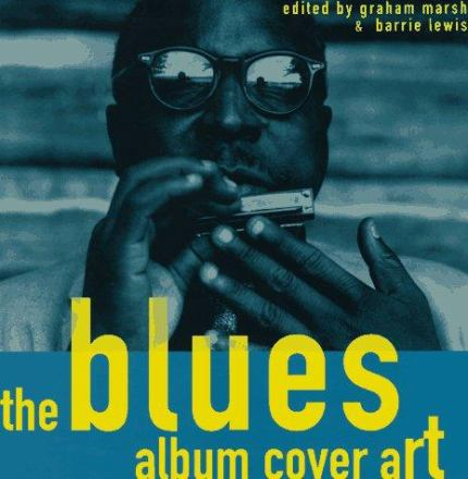 The blues album cover art