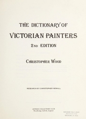 The dictionary of Victorian painters