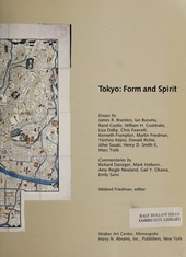 Tokyo : form and spirit