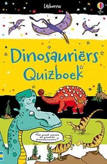 Dinosauriërs : quizboek