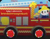 Baby's allereerste brandweerwagenboek