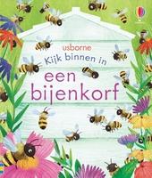 Kijk binnen in een bijenkorf