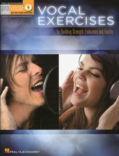 Vocal exercises : for building strength, endurance and facility