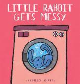 Little rabbit gets messy