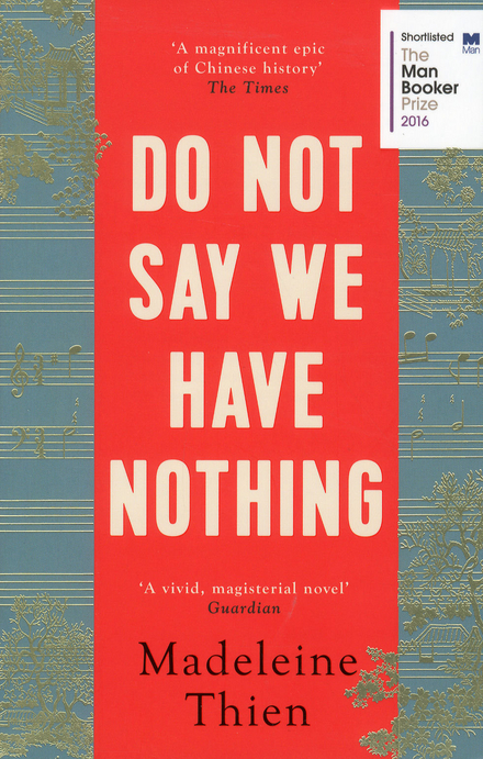 Do not say we have nothing - Muziek en literatuur gaan hand in hand