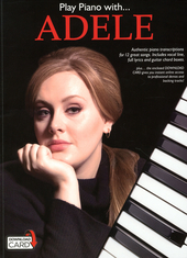 Adele : authentic piano trancriptions for 12 great songs