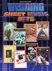 Wedding sheet music hits : piano, vocal, chords