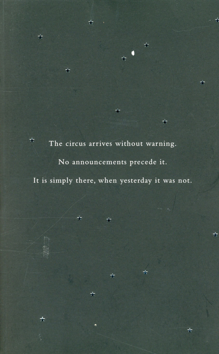 The night circus : a novel - Night Circus