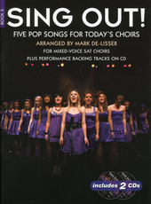 Sing out! : five pop songs for today's choirs. Book 2