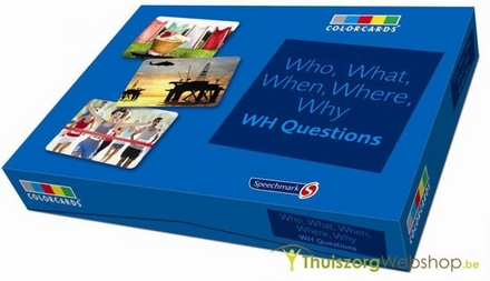 Who, What, When, Where, Why : WH Questions