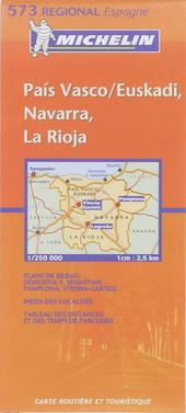 País Vasco, Euskadi, Navarra, La Rioja : carte routière et touristique