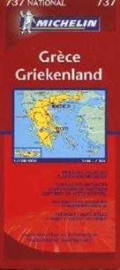 Griekenland : toeristische wegenkaart