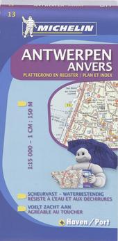 Antwerpen : plattegrond en register