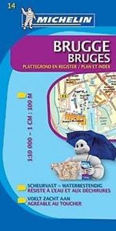 Brugge : plattegrond en register