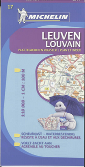 Leuven : plattegrond en register