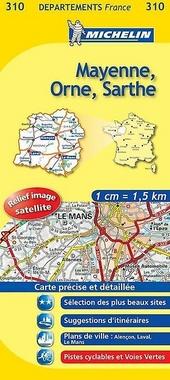 Mayenne, Orne, Sarthe