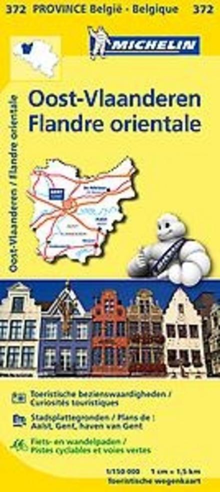 Oost-Vlaanderen : toeritische wegenkaart