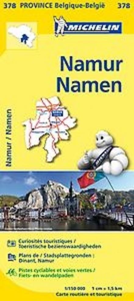 Namur : carte routière et touristique