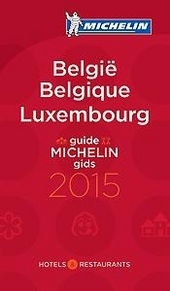 Michelin gids België, Luxembourg 2015 : hotels & restaurants