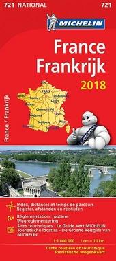 France : carte routière et touristique