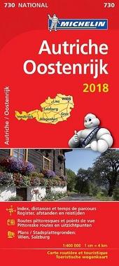 Autriche : carte routière et touristique