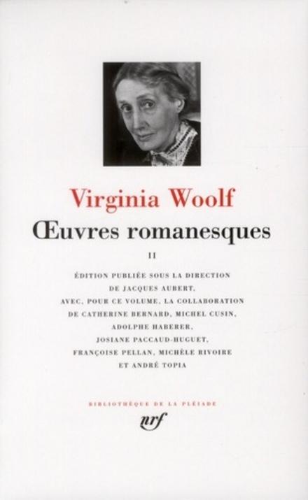 Oeuvres romanesques. II