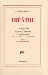 La cantatrice chauve ; La leçon ; Jacques, ou La soumission ; L'avenir est dans les oeufs ; Victimes du devoir ; Am...