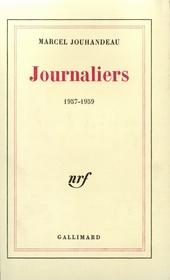 Journaliers 1957-1959