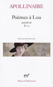 Poèmes à Lou, précédé de Il y a