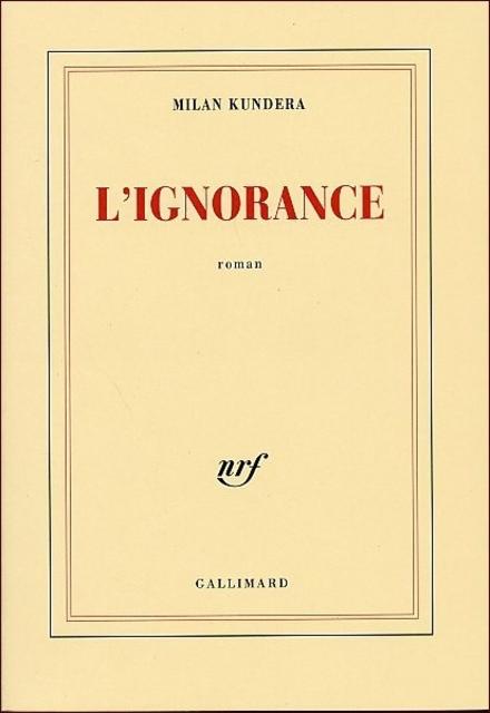 L'ignorance : roman