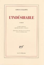 L'indésirable : roman