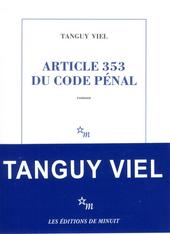 Article 353 du code pénal : roman
