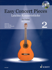 Easy concert pieces for guitar. Volume 2