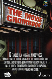 The movie choirbook : 12 famous film songs for mixed voices