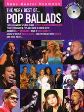 The very best of pop ballads : easy arrangements for piano