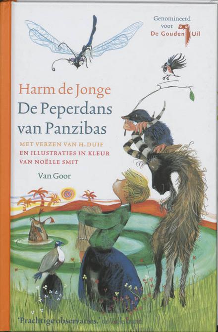 De peperdans van Panzibas : met zachte verzen van H. Duif
